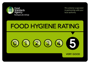 Food Hygiene Rating Scheme Now Scoring Highly
